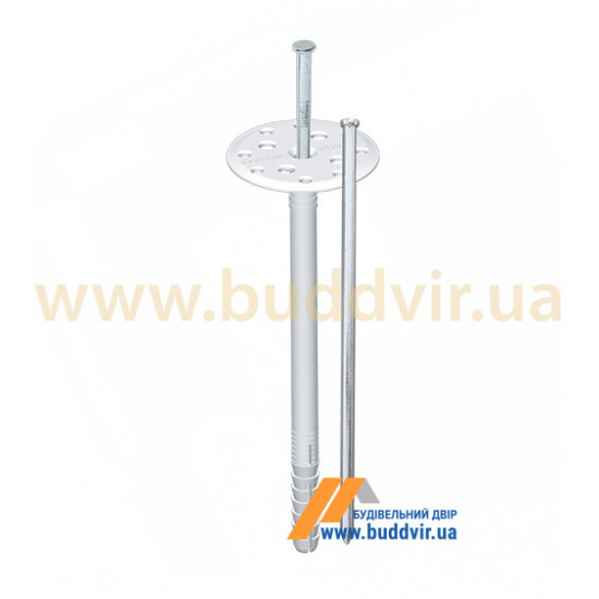 Дюбель термоизоляционный с металлическим гвоздем, Шток (Shtock), 10*120 мм (100 шт)