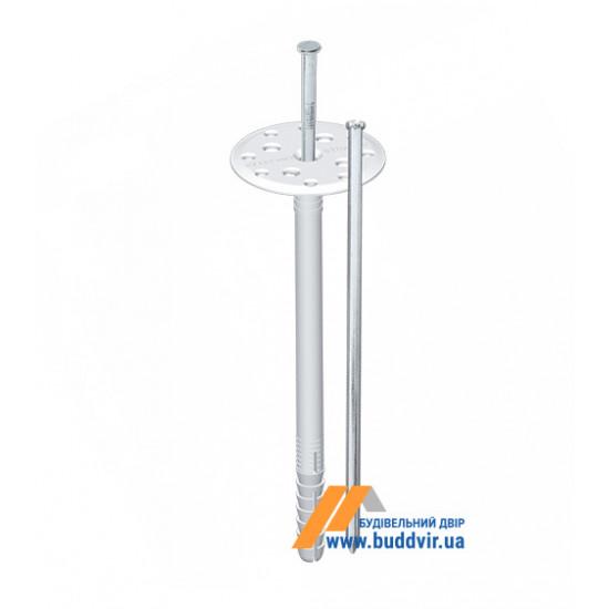 Дюбель термоизоляционный с металлическим гвоздем, Шток (Shtock), 10*160 мм (50 шт)