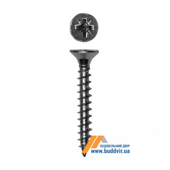 Шуруп универсальный Металвис (Metalvis), цинк белый, 4*30 мм (1 шт)