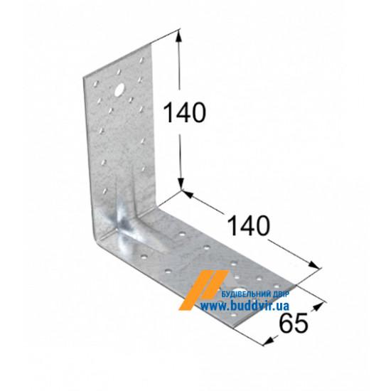 Уголок усиленный Домакс (Domax) 140*140*65*2 мм