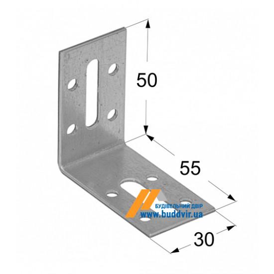 Уголок регулируемый Домакс (Domax) 50*55*30*2 мм