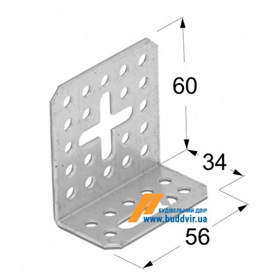 Уголок регулируемый Домакс (Domax) 60*34*56*2 мм