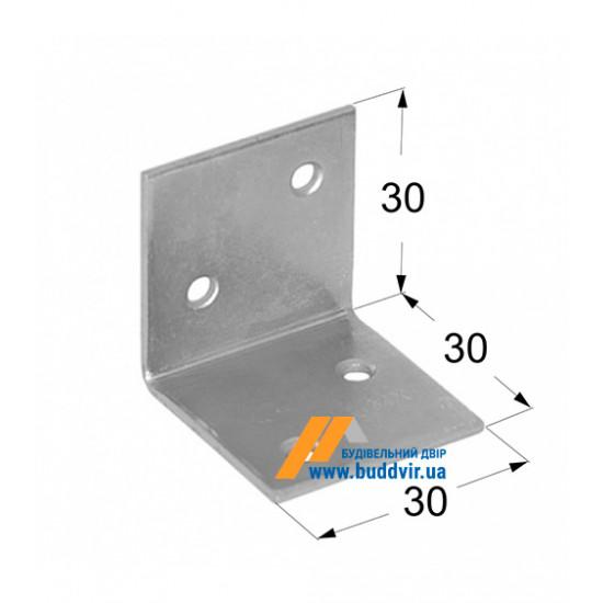Уголок широкий Домакс (Domax) 30*30*30*1,5 мм