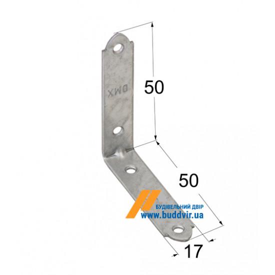 Уголок узкий Домакс (Domax) 50*50*17*2 мм