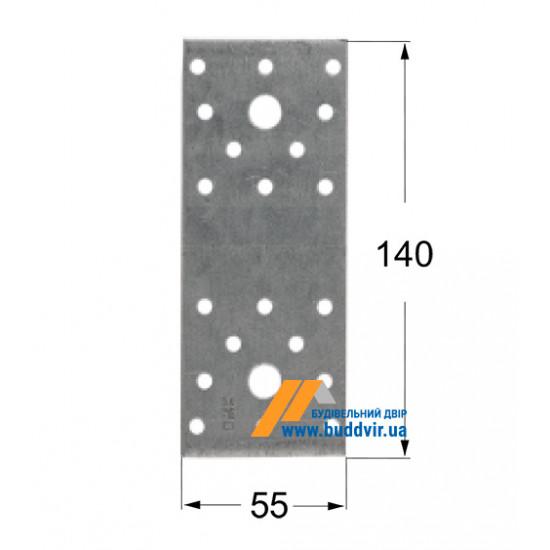 Крепление плоское Домакс (Domax) 140*55*2,5 мм