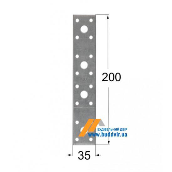 Крепление плоское Домакс (Domax) 200*35*2,5 мм