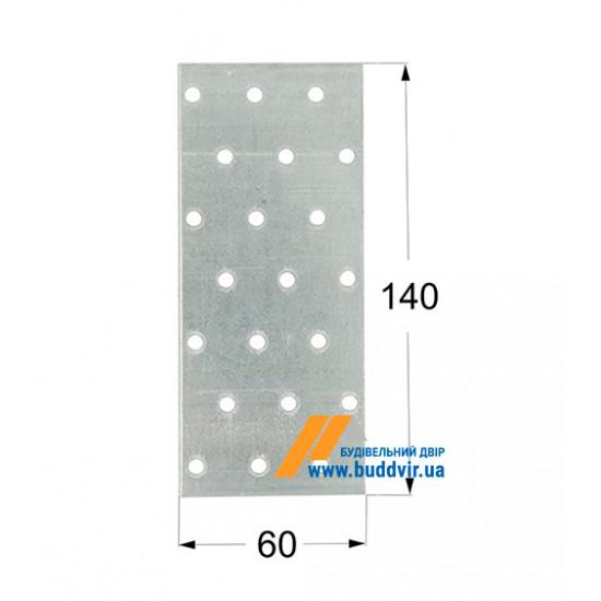 Пластина перфорированная Домакс (Domax) 140*60*2 мм