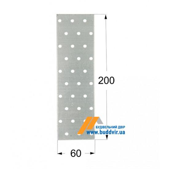 Пластина перфорированная Домакс (Domax) 200*60*2 мм