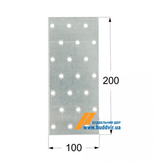 Пластина перфорированная Домакс (Domax) 200*100*2 мм