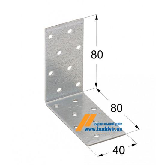 Уголок равносторонний Домакс (Domax) 80*80*40*2 мм