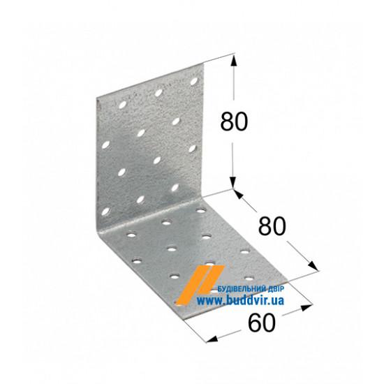 Уголок равносторонний Домакс (Domax) 80*80*60*2 мм