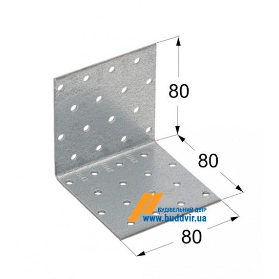 Уголок равносторонний Домакс (Domax) 80*80*80*2 мм