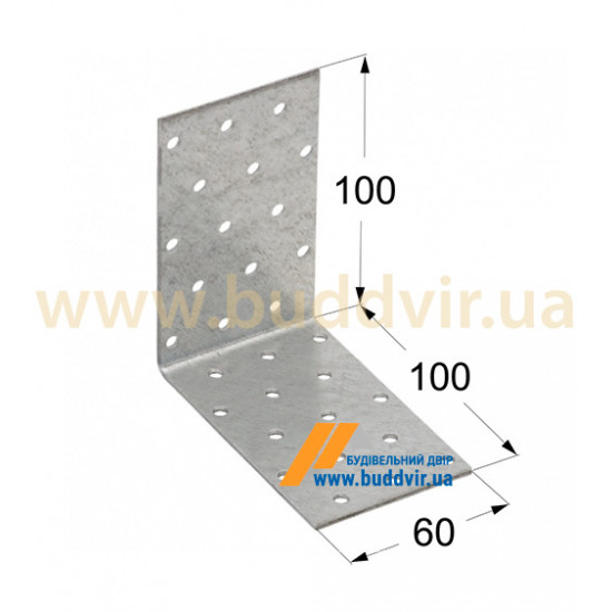 Уголок равносторонний Домакс (Domax) 100*100*60*2 мм