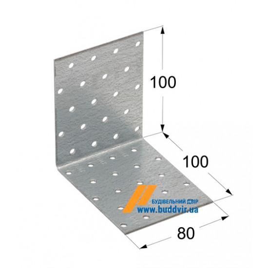 Уголок равносторонний Домакс (Domax) 100*100*80*2 мм