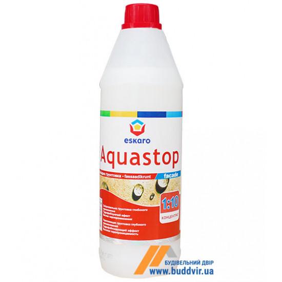 Грунтовка Эскаро (Eskaro) Aquastop Facade 50, 1 л