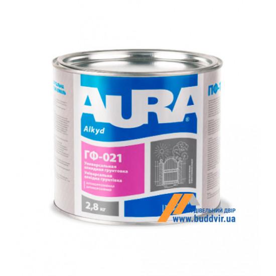 Грунтовка Эскаро (Eskaro) Aura ГФ-021 черная, 2,8 кг