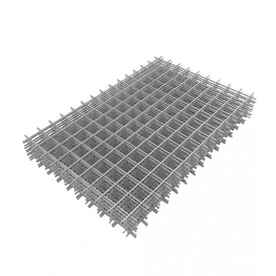 Сетка сварная (кладочная) ячейка 65*65 мм, размер 1*2 м, проволока 2,6 мм