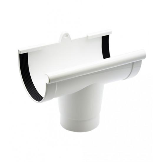 Воронка RainWay 130, диаметр 100 мм, белая
