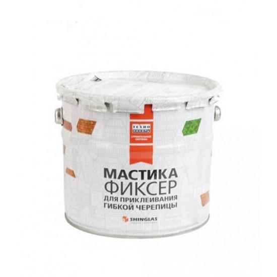 Мастика для гибкой черепицы ТЕХНОНИКОЛЬ (Tehnonikol) №23 (Фиксер), 3,6 кг