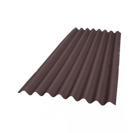 Лист коричневый Ондулин (Ondulin) 2000х950 мм