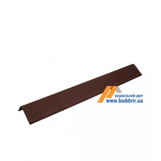 Чипец черепица коричневый Ондулин (Ondulin) 1030 мм