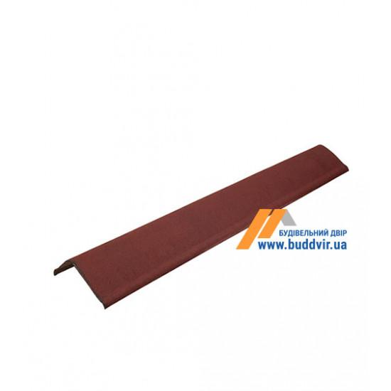 Чипец черепица красный Ондулин (Ondulin) 1030 мм