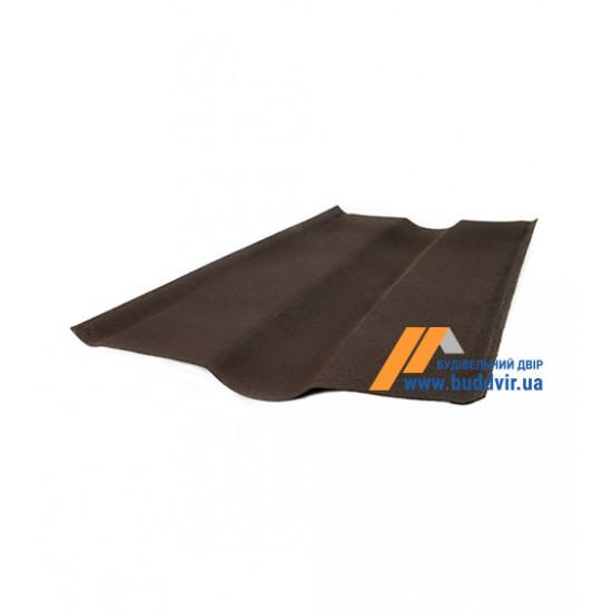 Яндова коричневый Ондулин (Ondulin) 1000мм.