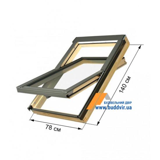 Мансардное окно Факро (Fakro) FTZ, 780*1400 мм