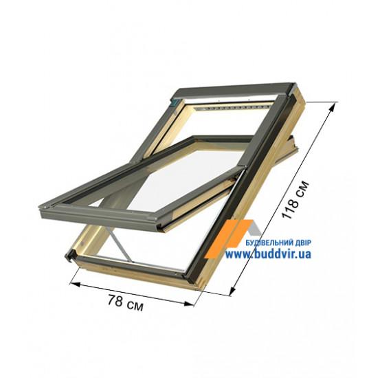 Мансардное окно Факро (Fakro) FTP-V U3 Z-Wawe, 780*1180 мм