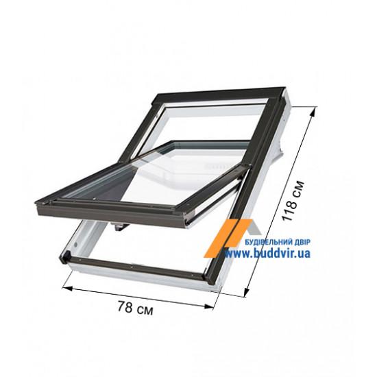 Мансардное окно Факро (Fakro) PTP-V U3, 780*1180 мм