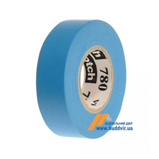 Изолента ПВХ 3M SCOTCH 780, синяя, 19мм*20м