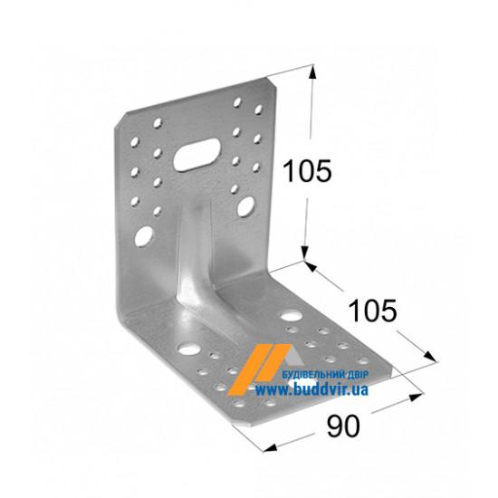 Уголок усиленный Домакс (Domax) 105*105*90*2 мм
