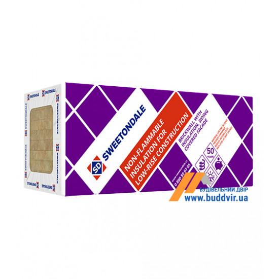 Базальтовая вата ТЕХНОНИКОЛЬ (TEHNONIKOL) Техноблок Стандарт, 100х600х1200 мм, пл.45 (2.88 м.кв.)