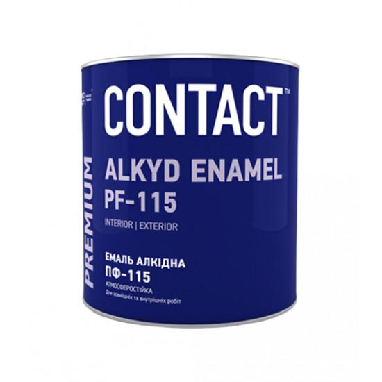 Эмаль Днепр-Контакт ПФ-115м, хаки, 2,8 кг