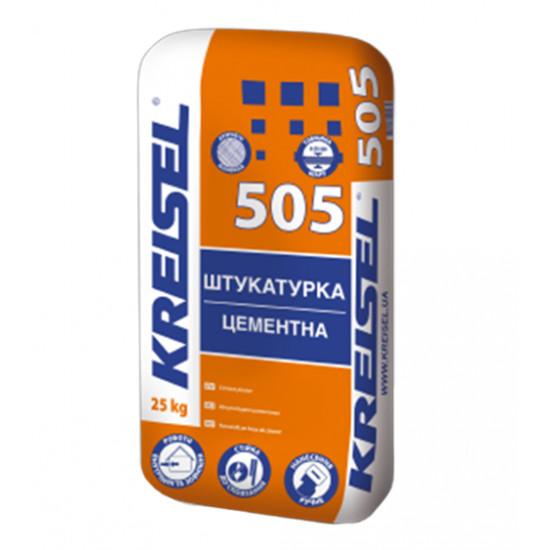 Штукатурка Крайзель (Kreisel) цементно-известковая машинная 505, 25 кг